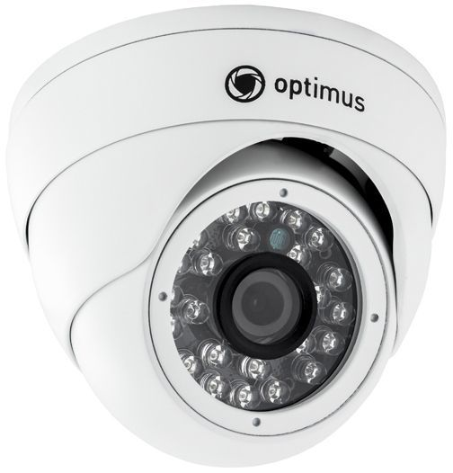 Optimus IP-E042.1(2.8)PE Купольные IP камеры для улицы фото, изображение